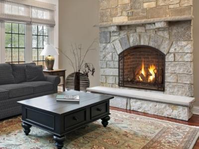 Alpha 36S fireplace