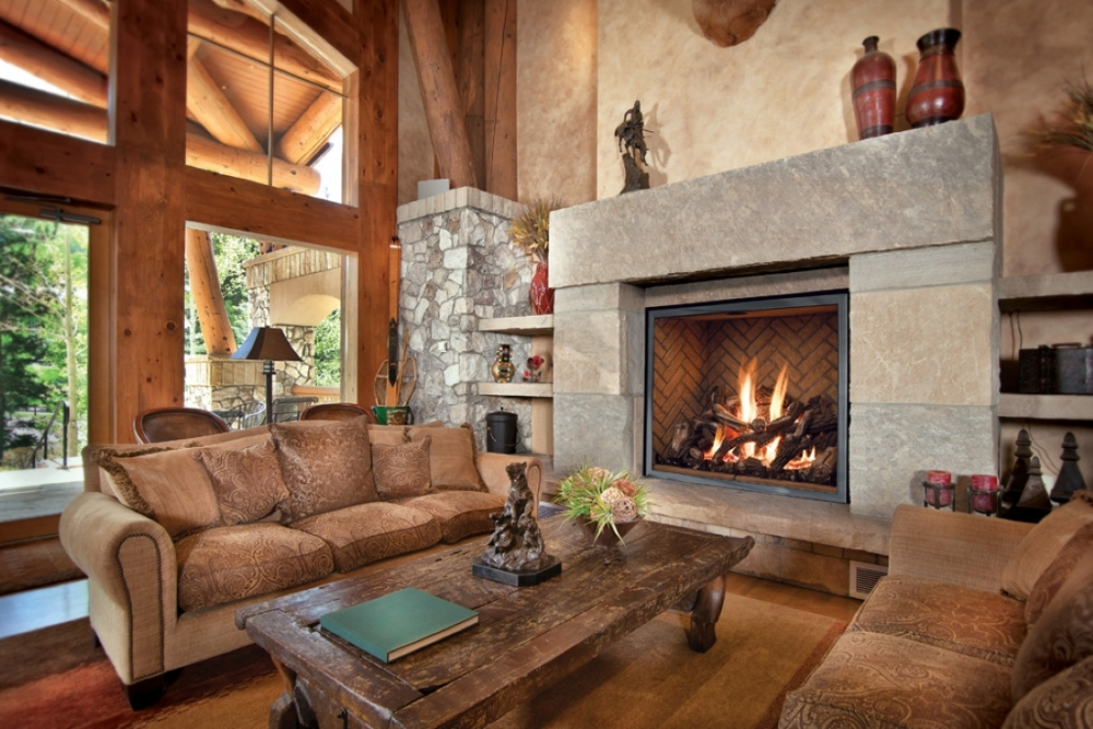 FV46 Fullview decor fireplace