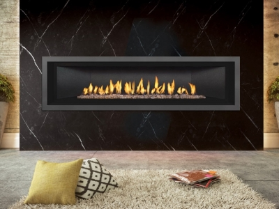 Mendota ML72 DV fireplace