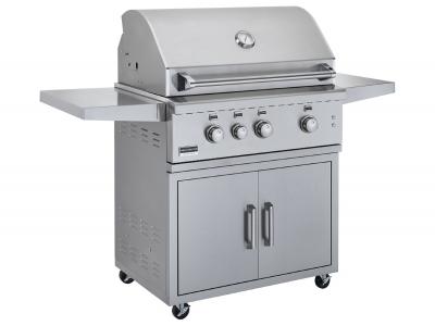 BSG343 gas grill built in