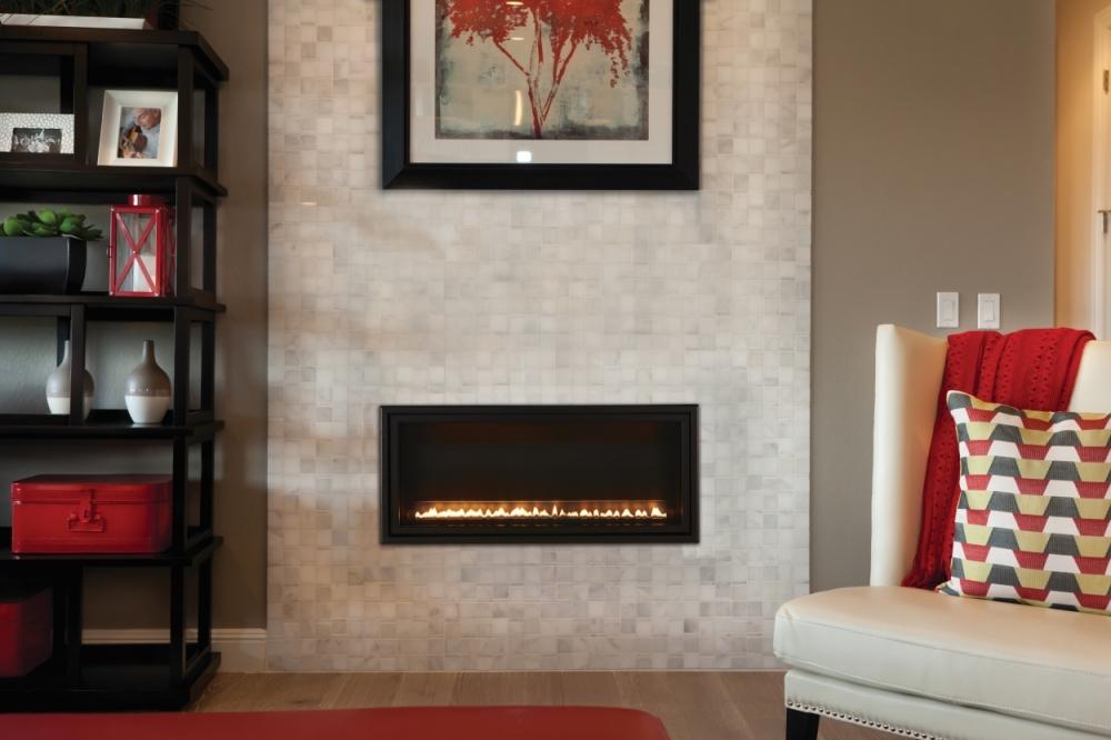 Boulevard VF built in fireplace