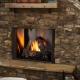Courtyard VF outdoor fireplace