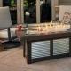 Denali Brew Linear gas fire table