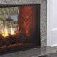 Fortress see-thru gas fireplace