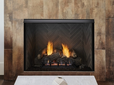 Lo-Rider VF built in fireplace