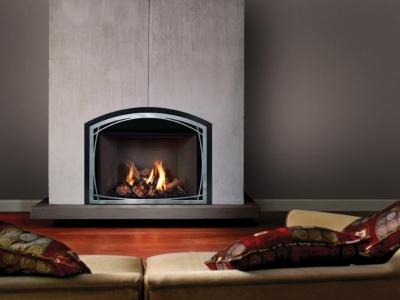 Mendota FV44i Fullview gas insert fireplace