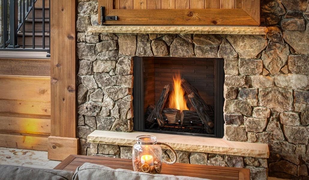 Monessen Courtyard VF outdoor fireplace