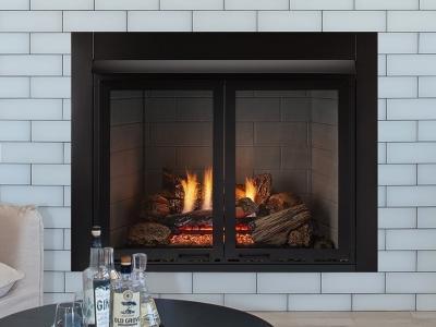 Monessen Lo-Rider VF built in fireplace