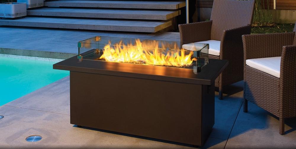Plateau fire table