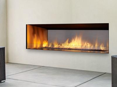 Regency HZO60 Horizon outdoor fireplace