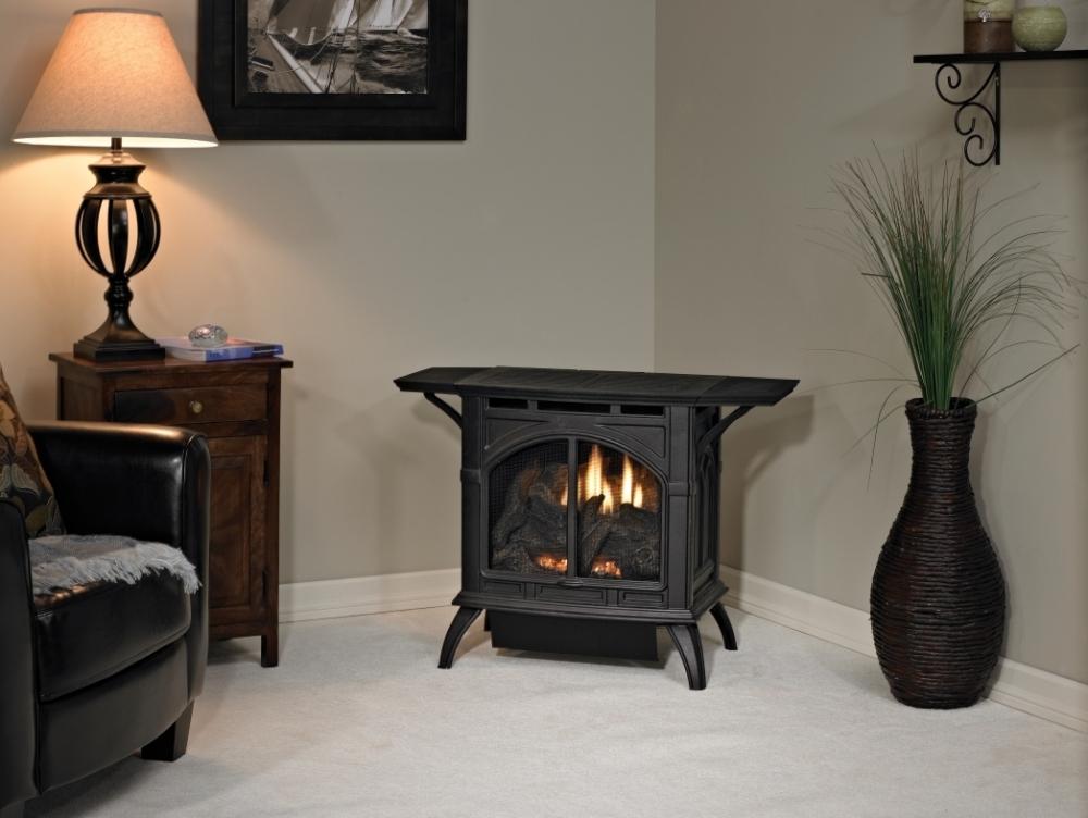 Vent free cast iron stove