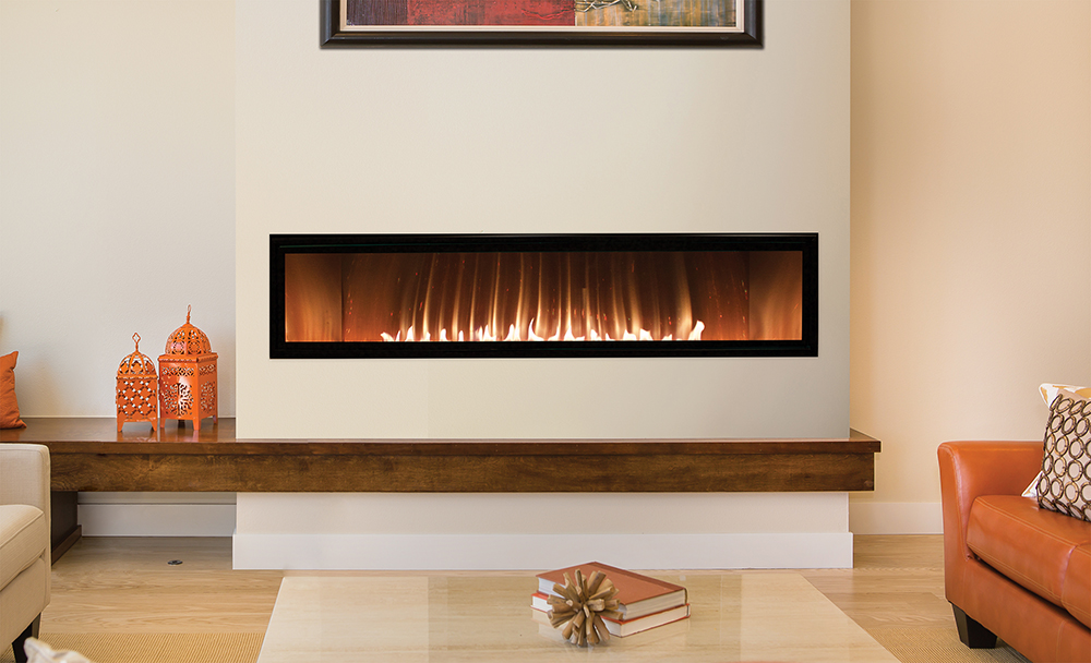 White Mtn. by Empire Boulevard VF built in fireplace